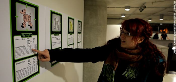 The event showed Robot Interaction Design In Aesthetic Public Spaces
